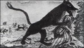 [Folklore] Qu'est-ce que la bête du Gévaudan ? (une seule réponse vraie)