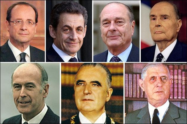 [Divers] Parmi ces présidents de la république, lesquels sont originaires de l'Auvergne ? (plusieurs réponses vraies)