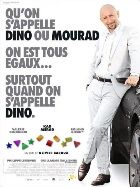 Tantôt  Dino , tantôt  Mourad , suivant les circonstances, dans ce film sur l'intégration d'Olivier Baroux... .