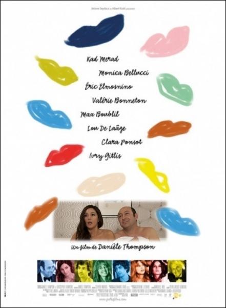 Il est   Roni   partenaire de Monica Bellucci, dans cette comédie de Danièle Thompson en 2013... . .