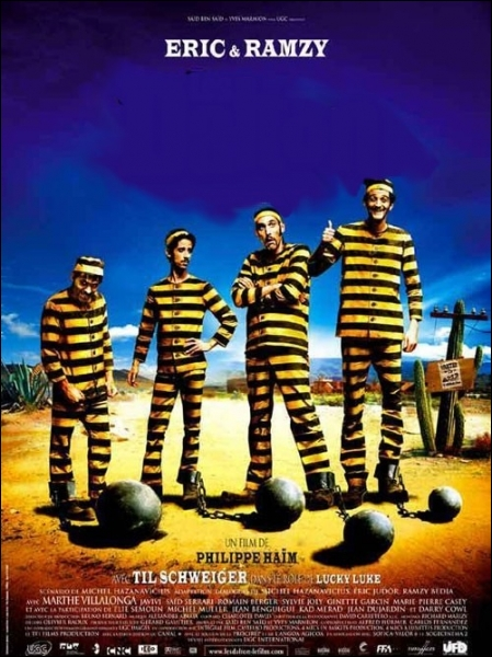 Un prisonnier mexicain dans cette adaptation de la BD   Lucky Lucke   consacrée aux frères Dalton ... .