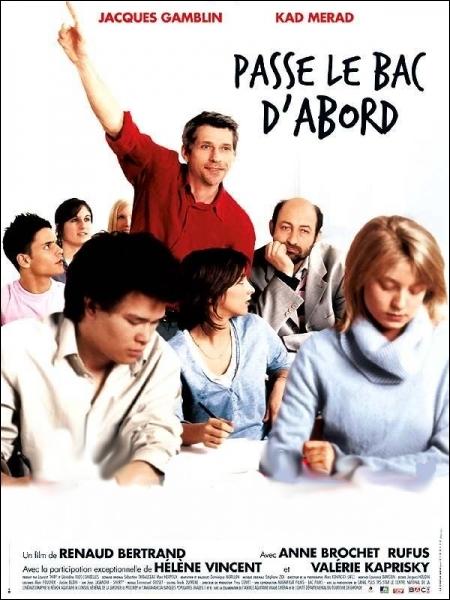 Il est Gérard Mathieu, un chômeur qui décide de passer son baccalauréat pour retrouver du travail dans ... .