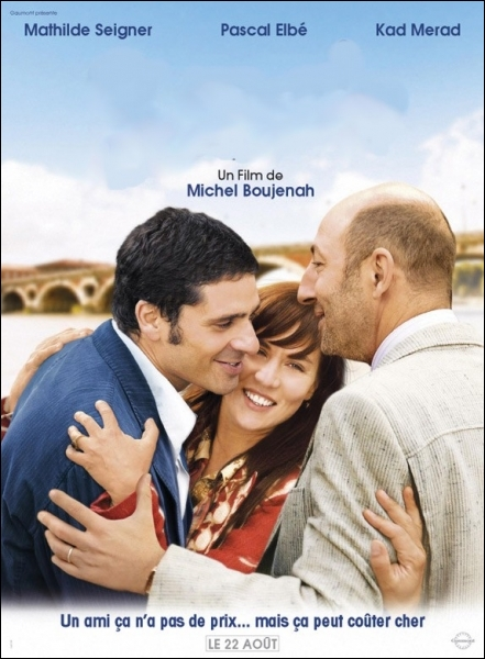 Une belle histoire d'amitié entre Claire, César et Baptiste mise en scène par Michel Boujenah ... . .