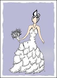 A vendre robe de mariée :