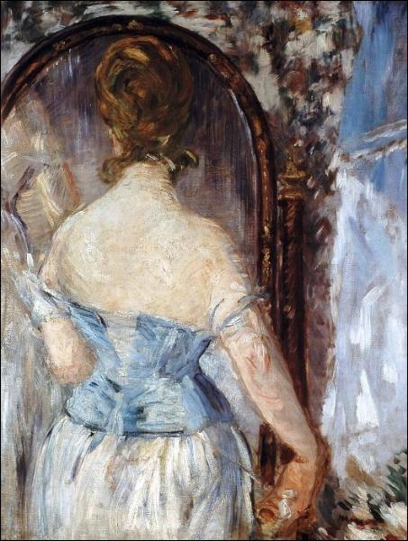 Quizz est ce edouard manet qui a peint ce tableau quiz for Devant le miroir manet