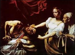 Dans un célèbre tableau du  Caravage , peint en 1598, qui Judith décapita-t-elle ?