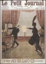 En 1914,  Henriette Caillaux , épouse du ministre des finances tua le patron du  Figaro , quel était son nom ?