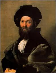 Quel peintre a représenté son ami,  Balthazar Castiglione , l'auteur du livre  Le parfait courtisan  qui imposa la notion d'honnête homme ?