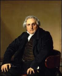 Quel peintre a représenté le journaliste et écrivain politique  Louis-François Bertin  ?