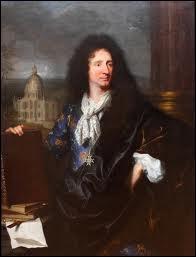 Quel peintre a représenté  Jules-Hardouin Mansart , l'architecte du roi Louis XIV ?