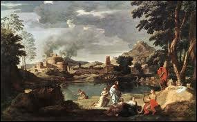 Quel peintre a représenté dans sa toile  Paysage avec Orphée et Eurydice  Orphée jouant de la lyre alors que sa femme Eurydice est mordue par un serpent ?