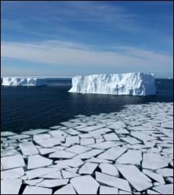 A partir de quand la fonte des glaces a-t-elle débuté ?