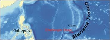 Le  Challenger Deep  est le plus profond point jamais enregistré dans les océans. Quelle est la profondeur de cette fosse marine du Pacifique ?