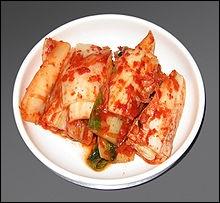 Voici des kimchis, dans quel restaurant dînez-vous ?