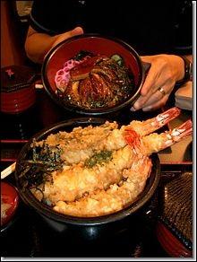 Voici un grand bol de riz appelé Donburi, quel restaurant avez-vous choisi ?