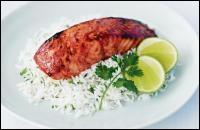 Voici un saumon tandoori, dans quel restaurant êtes-vous ?