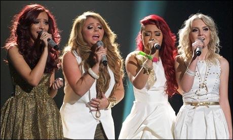 A quelle place ont-elles fini à X-Factor ?
