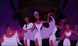 Pour finir, dans quel film peut-on voir plusieurs danseuses qui changent la couleur de leurs robes plus vite que leurs ombres ?
