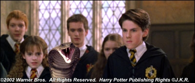 Durant le club de duel, Harry découvre qu'il possède une aptitude particulière, laquelle ?