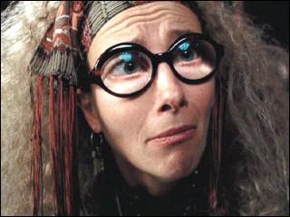 En divination, que voit le professeur Trelawney dans la tasse de Harry ?