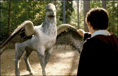 Comment s'appelle l'hippogriffe qu'Hagrid fait étudier à ses élèves ?