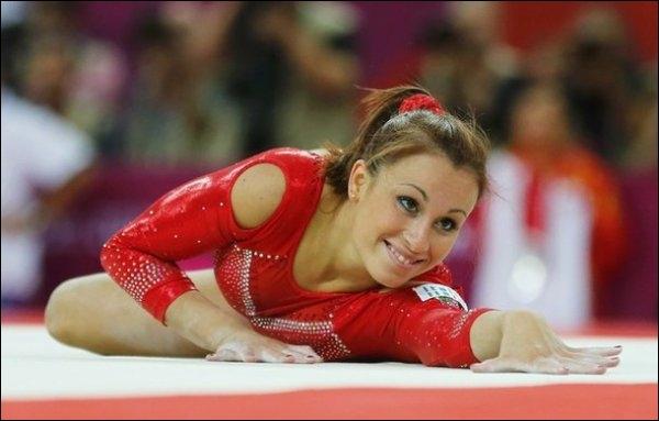 Qui est cette gymnaste ?