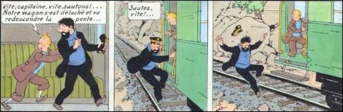 Ou va tomber le capitaine Haddock ?