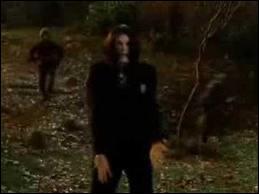 Dans la scène de  Scary Movie 4 , quand Tom Ryan laisse son enfant avec un arbre, une personne célèbre vient la voir. Qui est cette personne célèbre ?