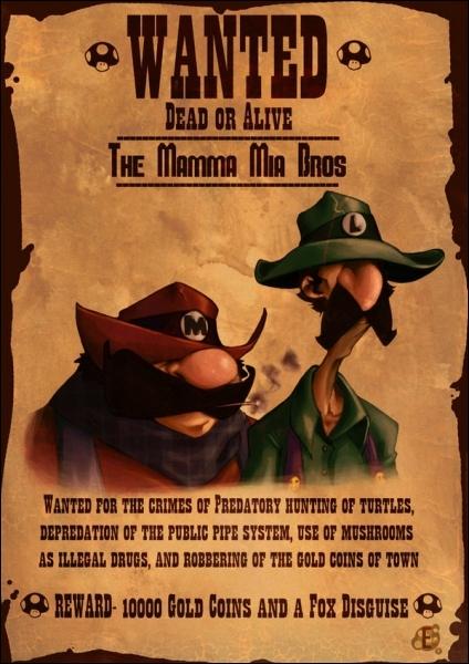 Comment allez-vous appeler Luigi par rapport à Mario ?