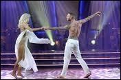 Il a brillamment remporté l'émission  Danse avec les stars . Quel était le nom de sa partenaire ?
