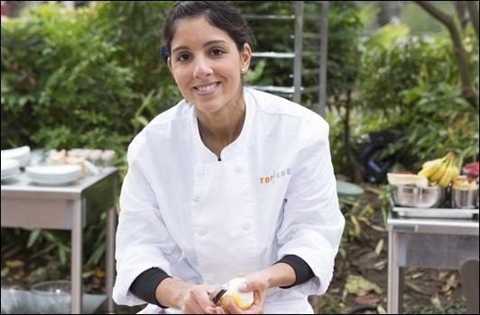 Elle se lance dans un apprentissage en cuisine alors qu'elle voulait devenir décoratrice d'ameublement. Pourrais-tu me donner son nom ?