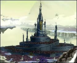 À combien de jours de marche la cité royale se trouve-t-elle de Sycca ?