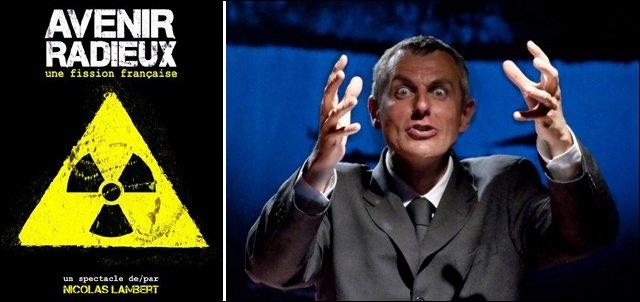 """""""Avenir Radieux, une fission française"""", est la formule étonnante d'un comédien, auteur et metteur en scène. Quel est le but de Nicolas Lambert ?"""