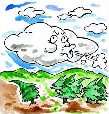 Le Mistral est un vent :