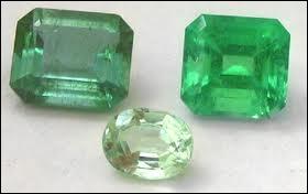 Peut-on rencontrer des émeraudes qui ne soient pas de couleur verte ?