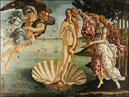 Art et mythologie : quel est le nom de ce tableau majeur de Sandro Botticelli peint vers 1485 ?