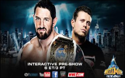 Wade Barrett vs The Miz : qui est le vainqueur pour le championnat intercontinental ? (Pre-show)