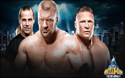 Triple H vs Brock Lesnar : qui est le vainqueur ? (No Holds Barred)