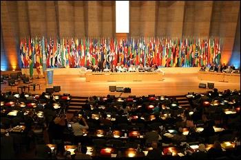 Pour quel projet, 151 pays adoptèrent-ils en 2005, par vote, le texte de la Convention de l'UNESCO ?