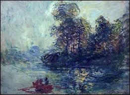 Qui a peint ce tableau intitulé  La rivière  ?