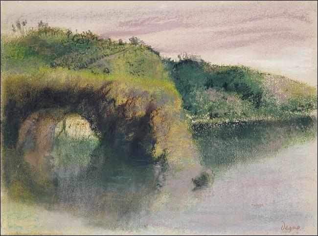 L'absinthe  est sans doute son oeuvre la plus connue et il peignait surtout des personnages. Mais c'est à lui aussi que l'on doit ce  Bords de rivière . Qui est-il ?