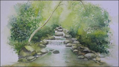 Quel duo interprétait  La rivière de notre enfance  au début des années 2000 ?