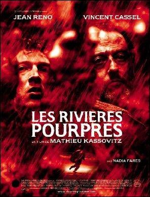 Qui est l'auteur du roman  Les rivières pourpres  dont Matthieu Kassovitz s'est inspiré pour son film au titre éponyme ?