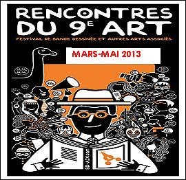 Où se déroule la 10e édition des Rencontres du 9e art ?