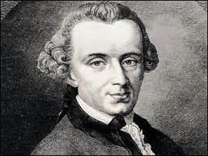 """""""Le génie est le talent de produire ce que pour quoi aucune règle déterminée ne peut être donnée"""". De qui est cette réflexion lisible dans """"La Critique de la faculté de juger"""" ?"""