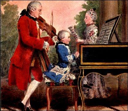 Quel musicien semble bien illustrer la théorie ci-dessus, puisqu'il manifesta des talents extraordinaires pour la musique dès l'âge de 5 ans ?