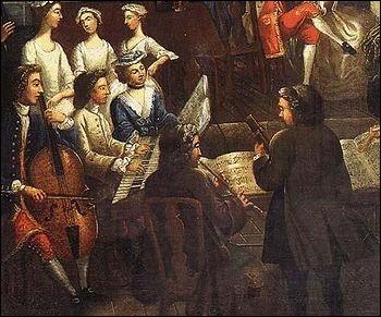 Comment nomme-t-on le genre musical écrit pour être joué au domicile d'un noble ?