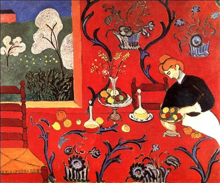 Quel est le titre de ce tableau peint par Henri Matisse en 1908 ?