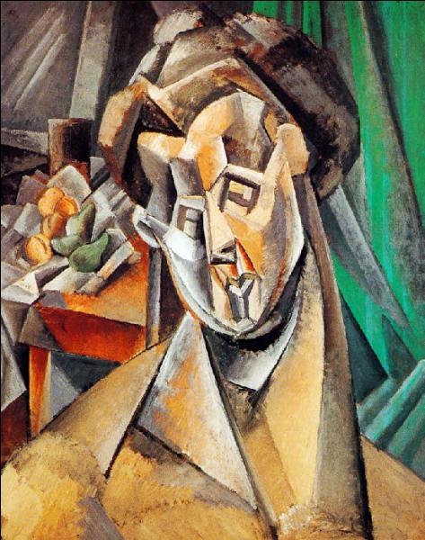 Ce portrait de femme est une toile de Picasso datant de 1909. Que représente ce tableau ?