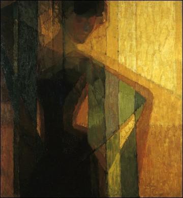Quelle nouvelle technique picturale est inventée par le tchécoslovaque Franck Kupka avec cette toile de 1910 ?